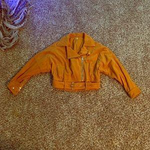 Mustard Free People Jacket